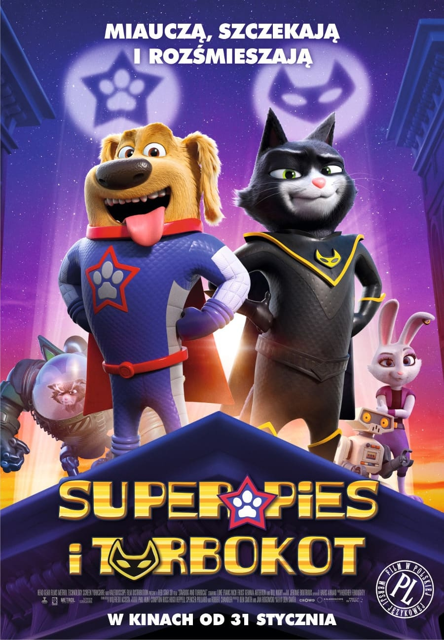 SuperPies i TurboKot (dubbing, 2D)