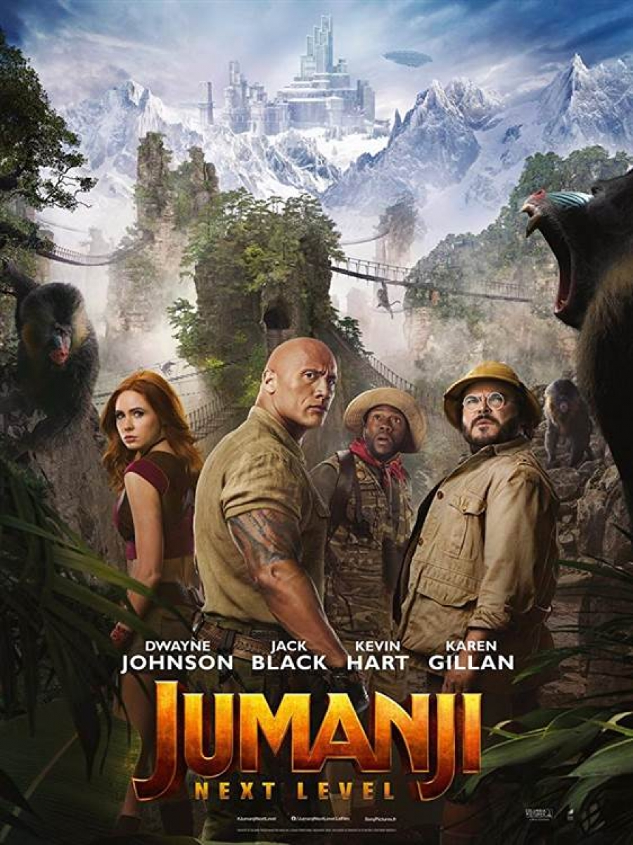 Jumanji: Następny poziom (napisy, 2D)